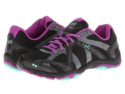Ryka - Influence (Black/Sugar Plum/Vivid Aqua 1) Women