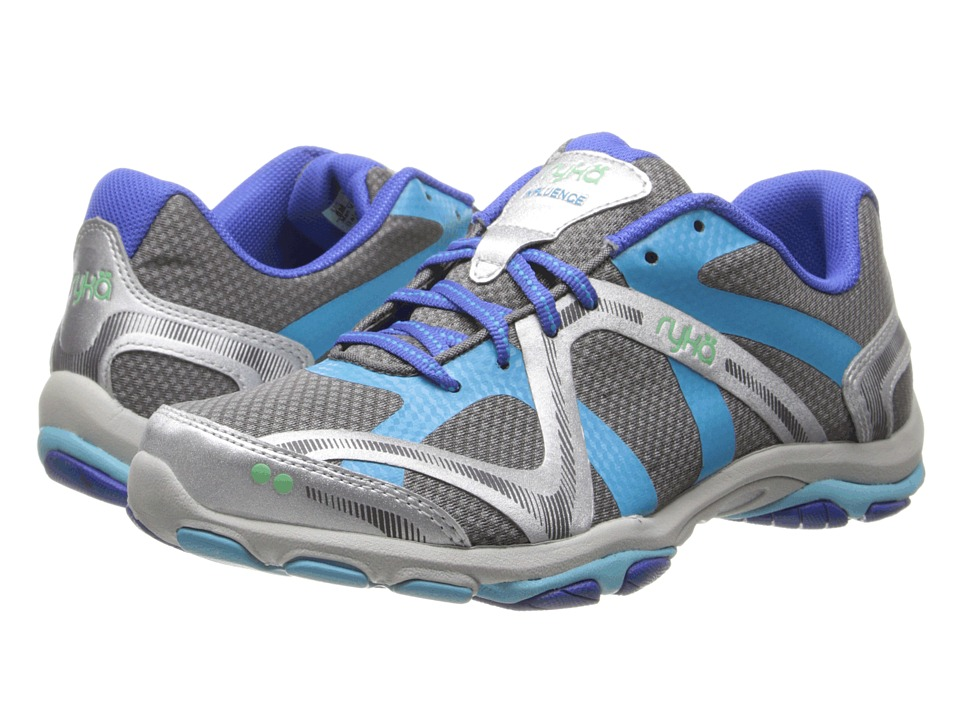 Ryka - Influence (Steel Grey/Chrome Silver/Met.Detox Blue/Vert Green) Women's Shoes