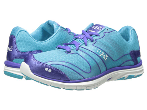 Ryka - Dynamic (Detox Blue/Impulse Purple/White 1) Women's Cross Training Shoes