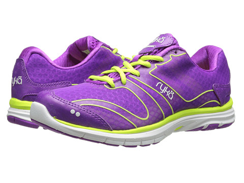 Ryka - Dynamic (Sugar Plum/Lime Shock/White 1) Women's Cross Training Shoes