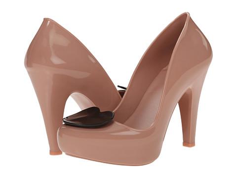 Melissa Shoes - Mel Raspberry (Pink Black) High Heels