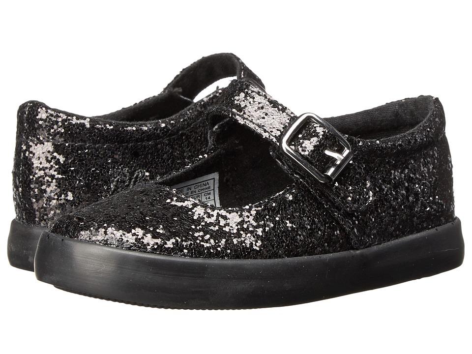 Polo Ralph Lauren Kids - Sadie MJ FT14 (Toddler) (Black Sparkle) Girl's Shoes