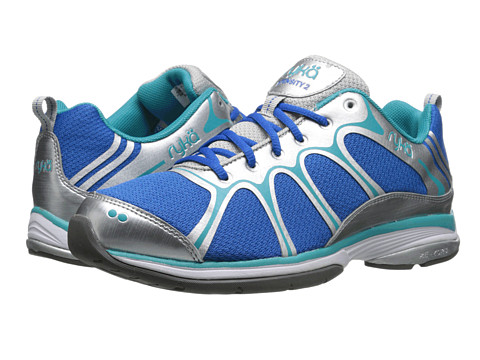 Ryka - Intensity 2 (Skydiver Blue/Chrome Silver/Disco Teal 1) Women's Cross Training Shoes