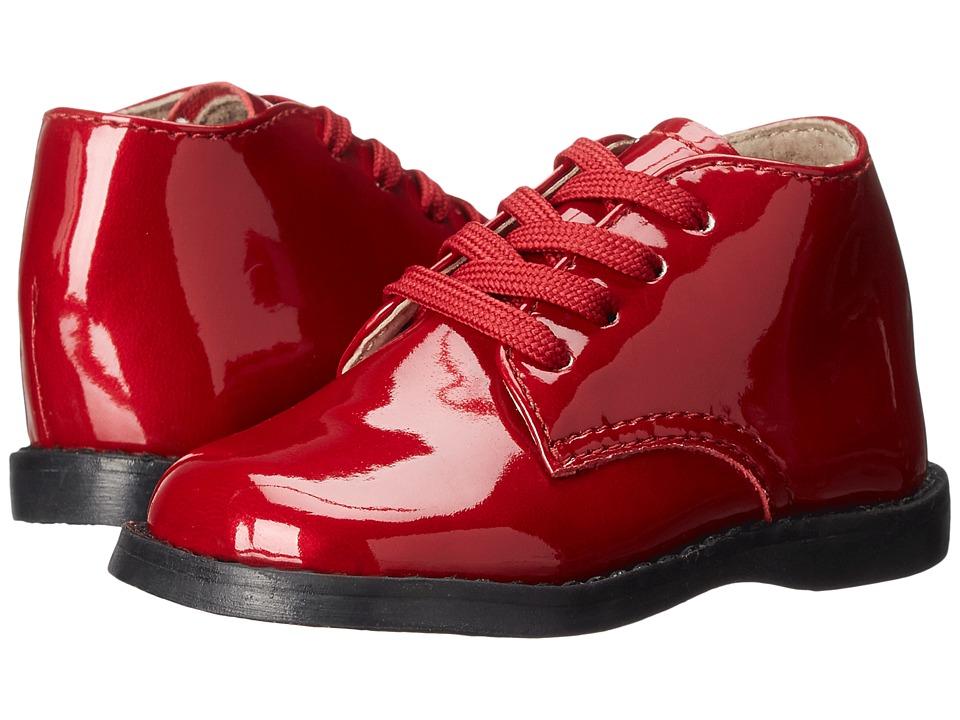 FootMates - Tina 2 (Infant/Toddler) (Red Patent) Girls Shoes