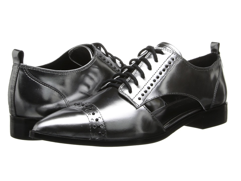 Elie Tahari - Oakly (Anthracite) Women's Lace Up Cap Toe Shoes