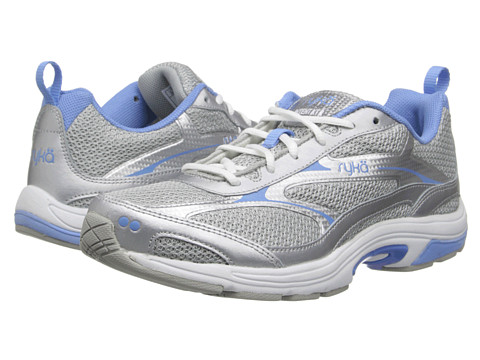 Ryka - Intent XT 2 (Chrome Silver/Elite Blue/White 1) Women