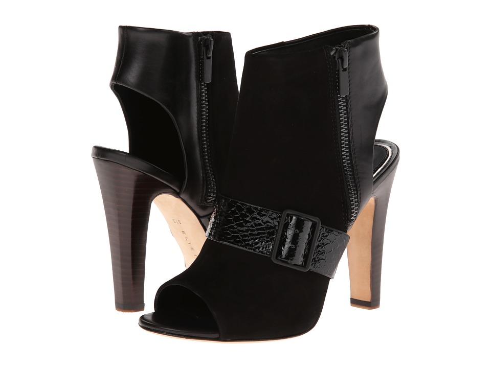 Elie Tahari Owen (Black/Black/Black) High Heels