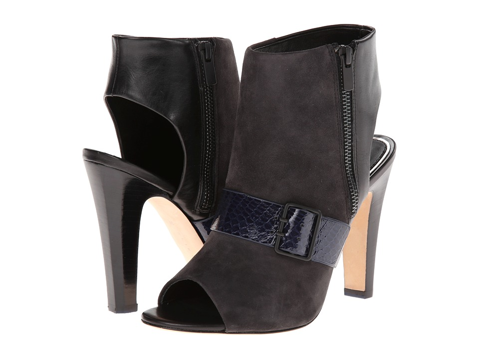 Elie Tahari - Owen (Dark Grey/Navy Saphire/Black) High Heels