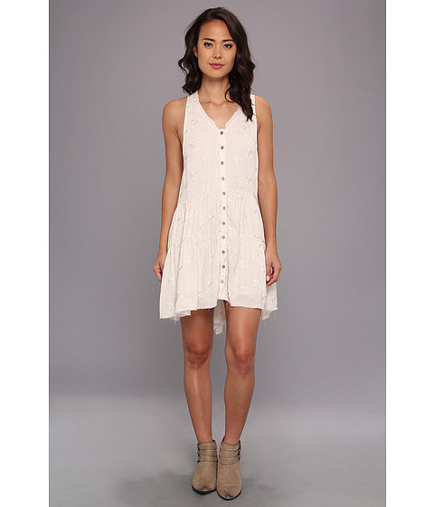 Free People - Clementine Mini Dress (Antique) Women's Dress