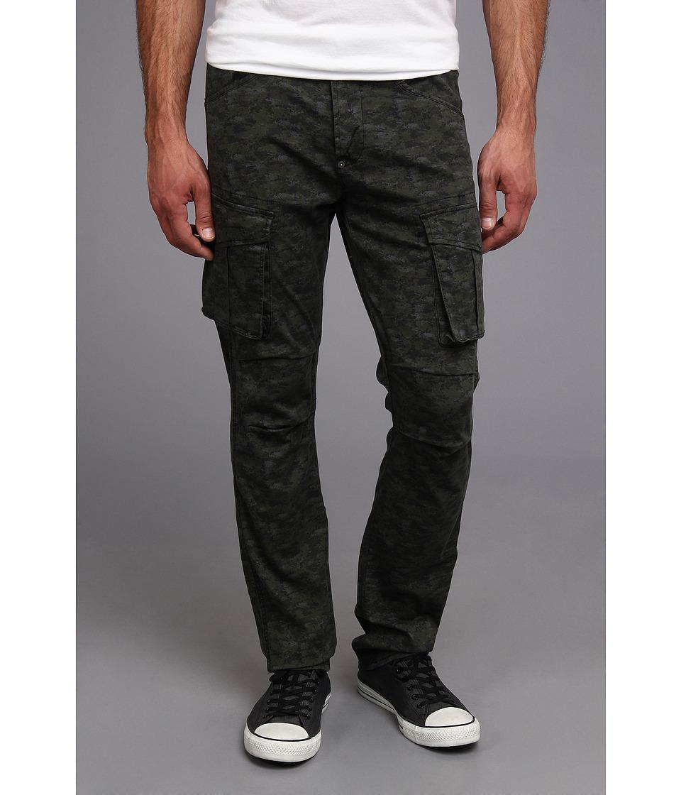 Hudson - Cargo Straight in Desert Storm (Green Camo) (Desert Storm (Green Camo)) Men's Casual Pants