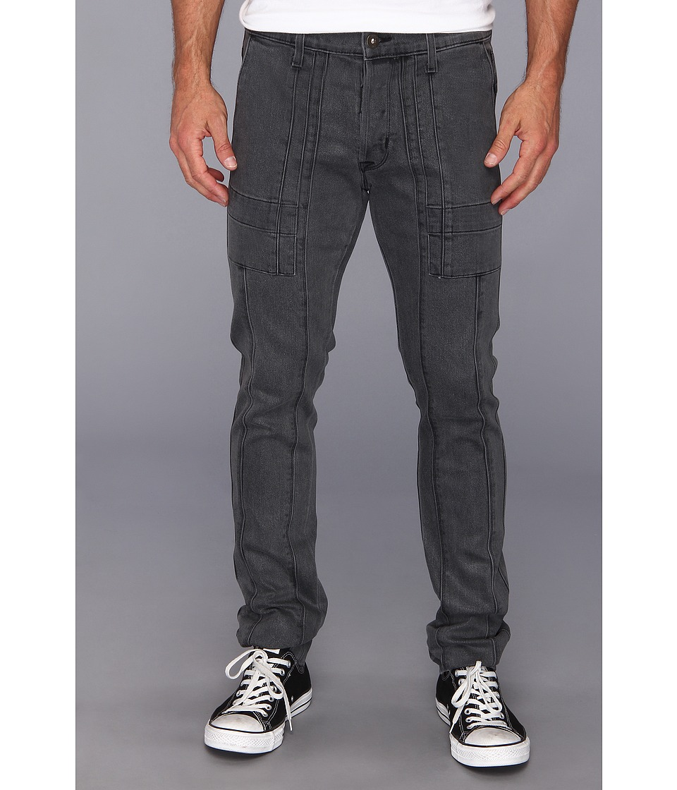 Hudson - The Trouble Stride Cargo in Grey Wax (Grey Wax) Men's Jeans