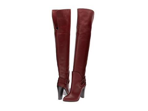 Sergio Rossi - Saddle (Rouge Boheme) Women's Shoes