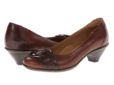 Softspots - Sarah (Caramel/Chocolate Goat Mustang/Goat Mustang) Women's Slip on Shoes