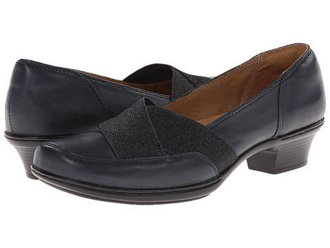 Softspots - Scarlet (Navy Velvet Sheep Nappa) Women's 1-2 inch heel Shoes