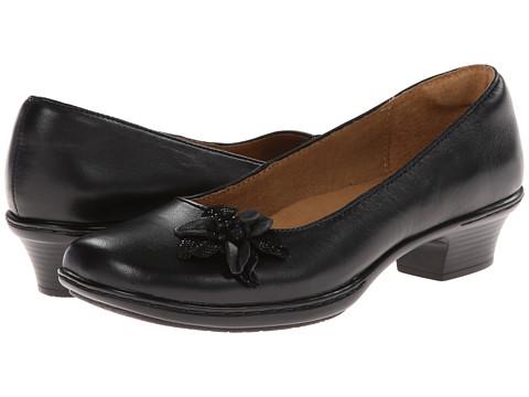 Softspots - Star (Black/Black Velvet Sheep Nappa/Santos Suede) Women's 1-2 inch heel Shoes