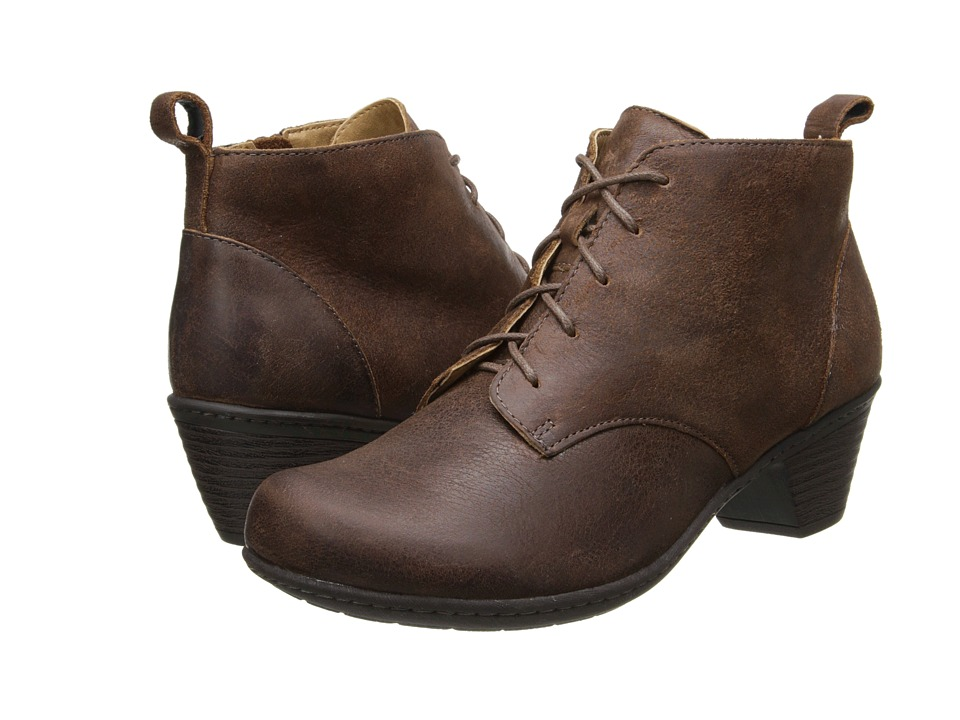 Comfortiva - Sofi (Drum Brown Raptor) Women's Lace-up Boots