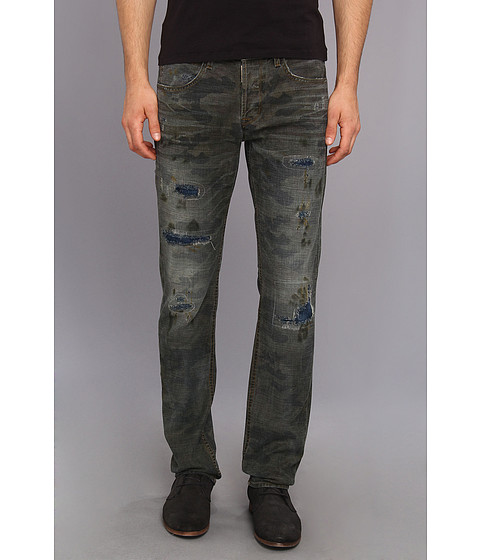 Hudson - Byron Straight in Clark (Clark) Men's Jeans