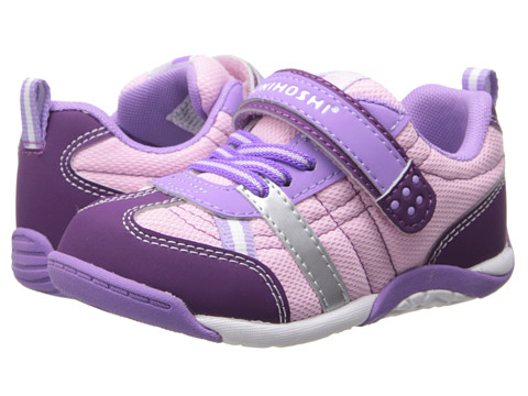 Tsukihoshi Kids - Kaz (Toddler/Little Kid) (Purple/Rose) Girl's Shoes