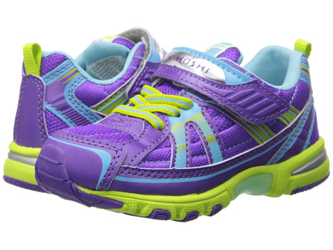 Tsukihoshi Kids - Storm (Toddler/Little Kid) (Purple/Lime) Girls Shoes