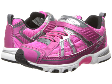 Tsukihoshi Kids - Storm (Toddler/Little Kid) (Fuchsia/Silver) Girls Shoes