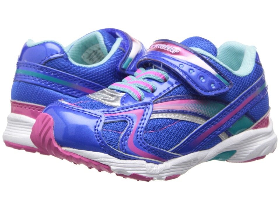 Tsukihoshi Kids - Glitz (Toddler/Little Kid) (Blue/Pink) Girls Shoes