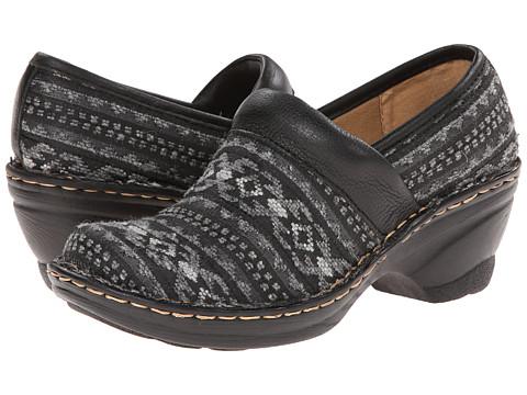 Softspots - Larissa II (Black/Black Annapurn Fabric/Calf Ionic) Women