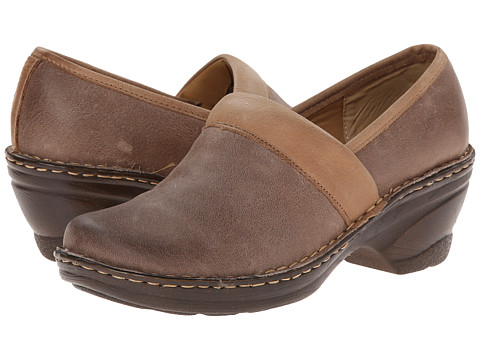 Softspots - Larissa II (Barley/Mocha Raptor/Cow Spider) Women's Slip on Shoes