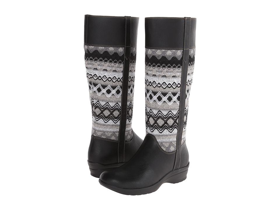 Softspots - Jersey (Black/Grey Waycross/Diamond Knit) Women