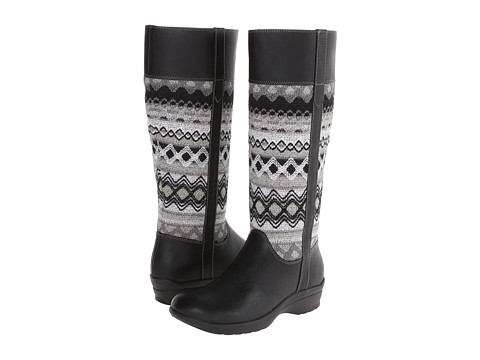 Softspots - Jersey (Black/Grey Waycross/Diamond Knit) Women's Pull-on Boots