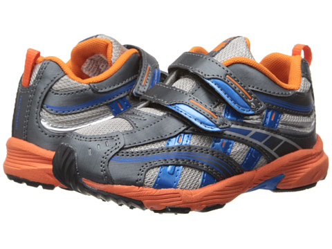 Tsukihoshi Kids - Flame (Toddler/Little Kid) (Graphite/Orange) Boys Shoes
