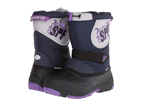 Superfit - Magik (Toddler/Little Kid) (Dark Navy/Lilac) Girl