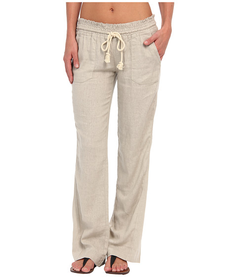 Roxy - Ocean Side Pant (New Stone) Women's Casual Pants