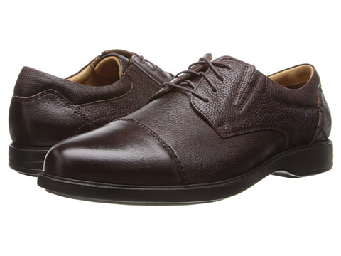 Florsheim - Vantage Cap Toe Oxford (Brown Milled) Men