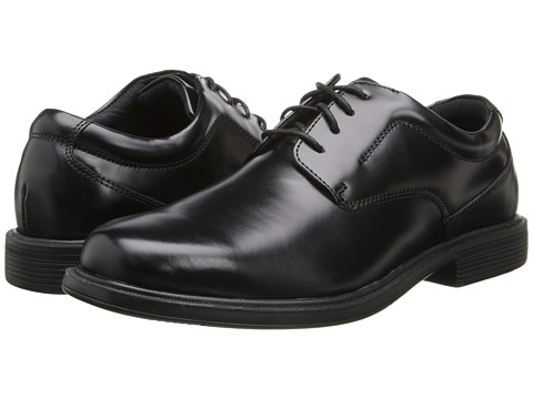 Nunn Bush - Mauston (Black) Men's Plain Toe Shoes