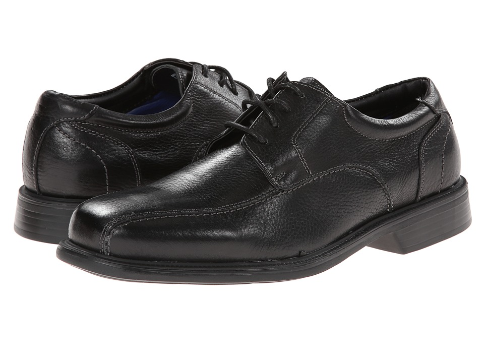 Florsheim - Freedom Bike Oxford (Black Milled) Men's Lace-up Bicycle Toe Shoes