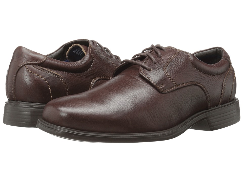 Florsheim Freedom Plain Toe Oxford (Brown Milled) Men