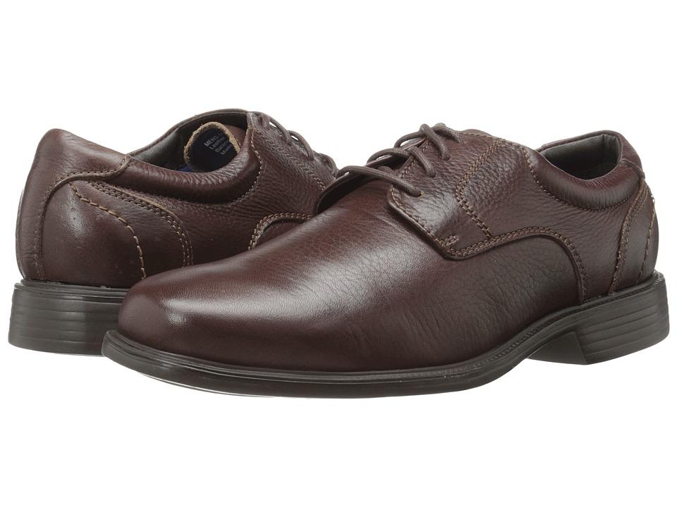 Florsheim - Freedom Plain Toe Oxford (Brown Milled) Men's Plain Toe Shoes