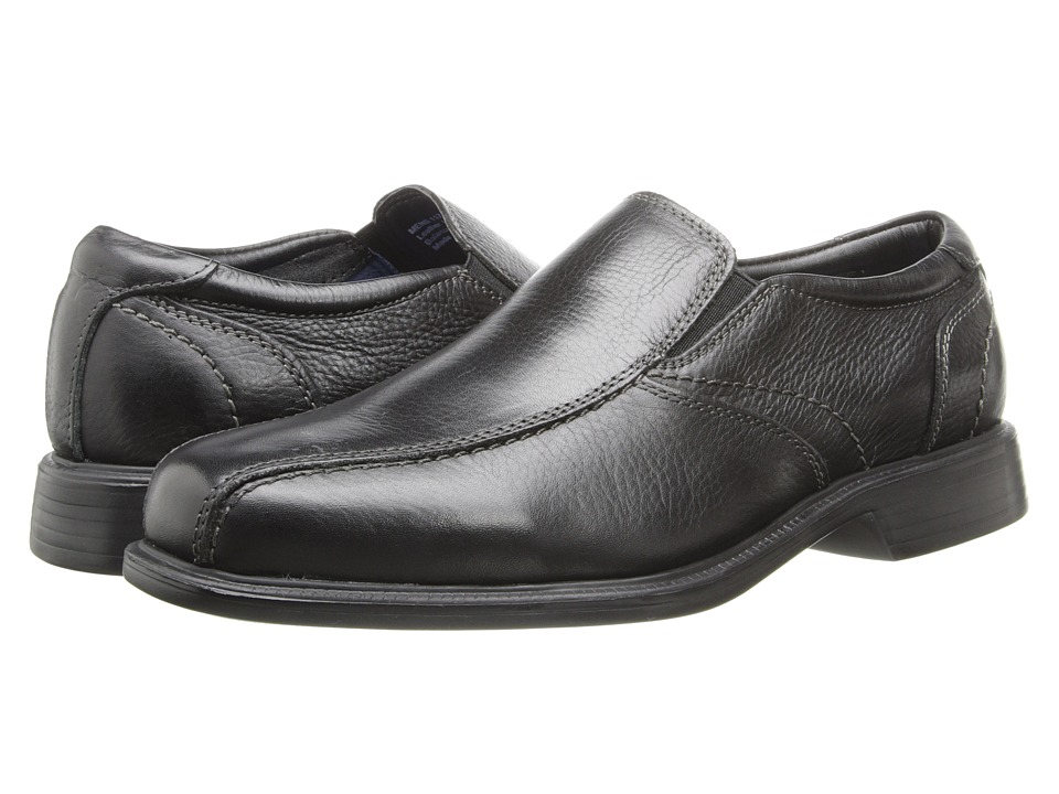 Florsheim - Freedom Bike Slip-On (Black Milled) Men's Lace-up Bicycle Toe Shoes