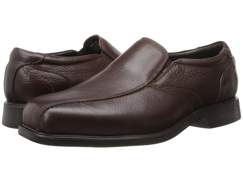 Florsheim - Freedom Bike Slip-On (Brown Milled) Men's Lace-up Bicycle Toe Shoes