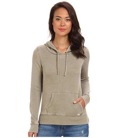 Billabong - Run Down Pullover Hoodie (Grassroots) Women's Sweatshirt