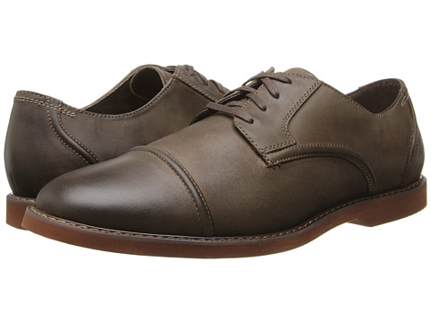 Florsheim - HiFi Cap Toe Oxford (Brown Crazy Horse Leather) Men's Lace Up Cap Toe Shoes