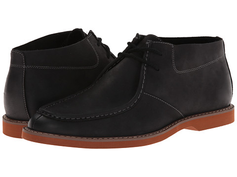Florsheim - HiFi Moc Boot (Black Crazy Horse Leather) Men
