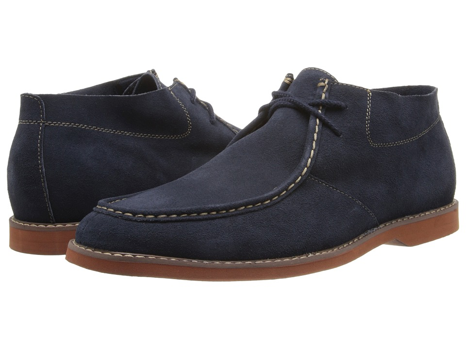 Florsheim - HiFi Moc Boot (Navy Suede) Men's Lace-up Boots