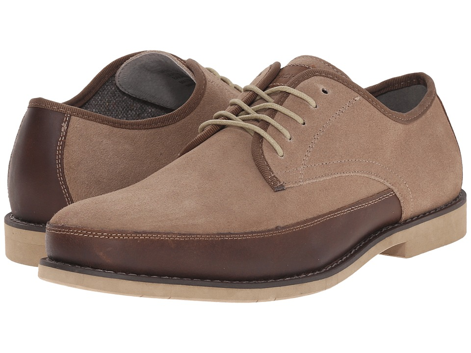 Florsheim Rival Moc Toe Oxford (Mushroom Suede) Men