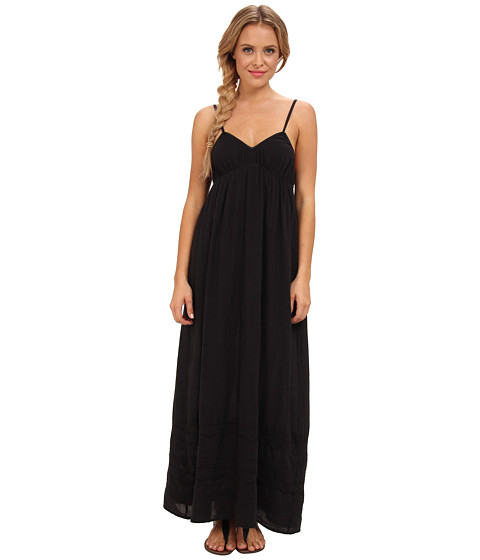 Billabong - Untold Sun Maxi Dress (Off Black) Women