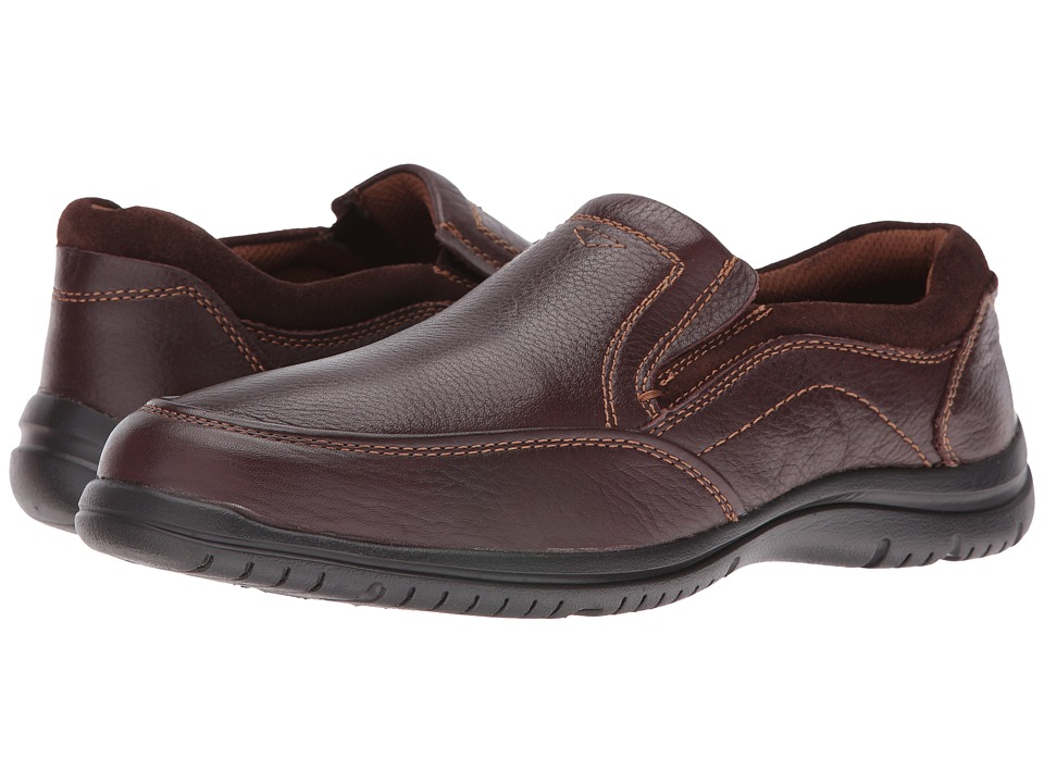 Florsheim - Fortuity Moc Slip (Brown Milled) Men's Slip on Shoes