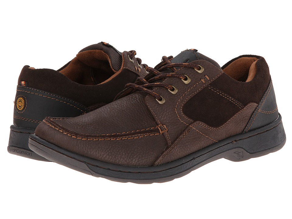 Nunn Bush - Blain (Brown) Men's Lace up casual Shoes