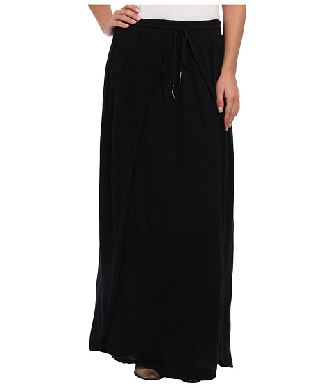 Billabong - Echo Of Light Maxi Skirt (Black) Women's Skirt