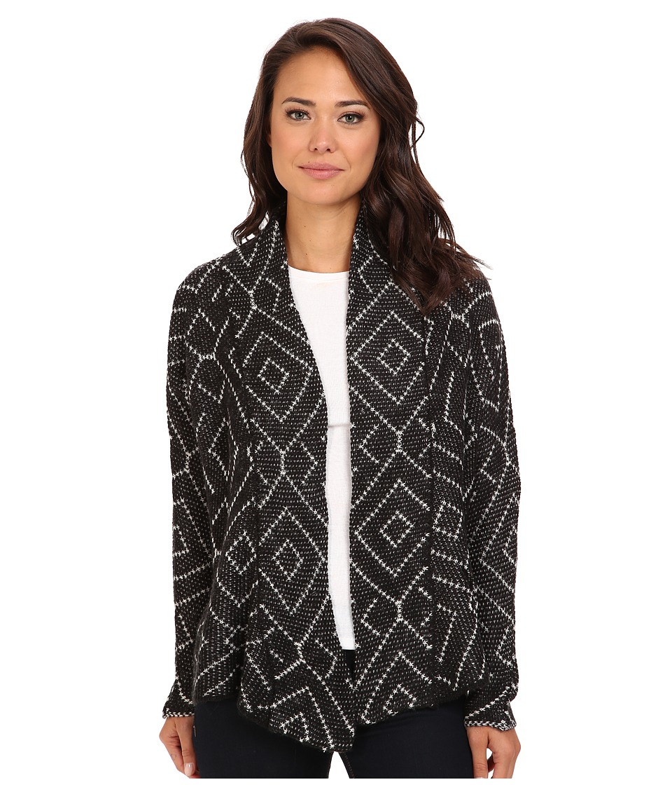 Billabong - Beyond The Sands Cardigan (Off Black) Women