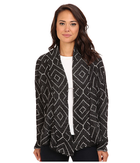 Billabong - Beyond The Sands Cardigan (Off Black) Women's Sweater